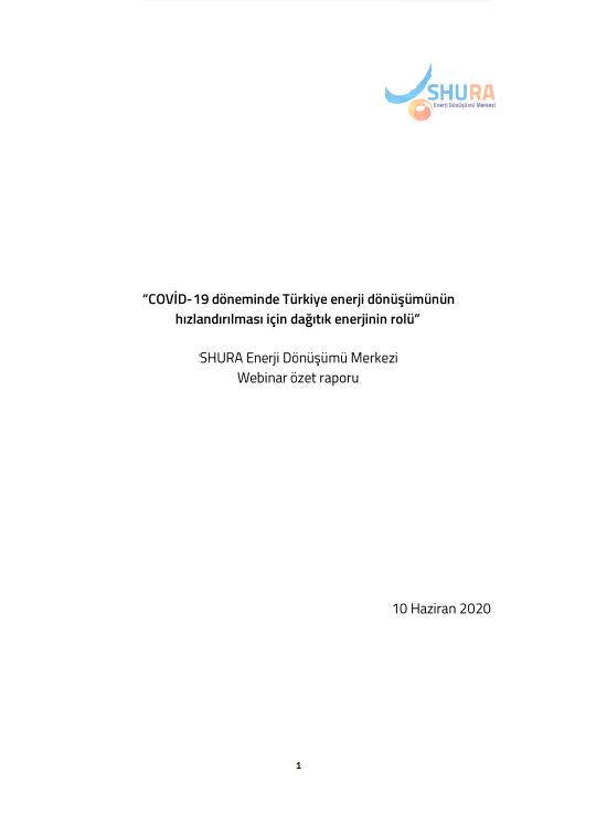 SHURA 10.06.2020 Webinar Özet Raporu